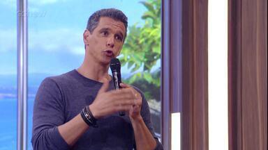 Marcio Garcia conta piada sobre Sandy e Junior - Confira!