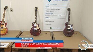 Receita Federal de Taubaté faz leilão de carros e eletrônicos - Lances só podem ser feitos online até segunda-feira (30) no site da Receita Federal.