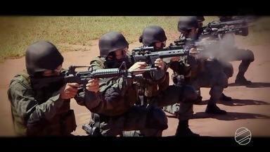 Último episódio da série Tropas de Elite destaca o trabalho do BOPE - Batalhão de Operações Especiais da PM é o destaque da reportagem desta sexta-feira.