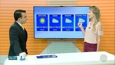 Confira a previsão do tempo para esta sexta-feira (27) e para o fim de semana em MS - Confira a previsão do tempo para esta sexta-feira (27) e para o fim de semana em MS