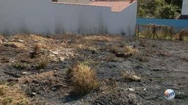 Incêndios em terrenos particulares tem multa de até R$ 4 mil em Pouso Alegre (MG) - Incêndios em terrenos particulares tem multa de até R$ 4 mil em Pouso Alegre (MG)