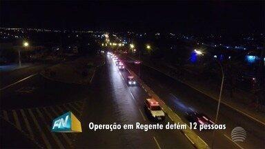 Operação policial é realizada em Regente Feijó - Foram presos envolvidos com o tráfico de drogas.