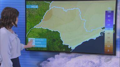 Veja como fica o tempo em São Carlos e região nesta sexta-feira (27) - Veja como fica o tempo em São Carlos e região nesta sexta-feira (27).