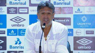 Renato pede desculpas ao time do Grêmio por críticas no jogo contra o Vasco - Assista ao vídeo.