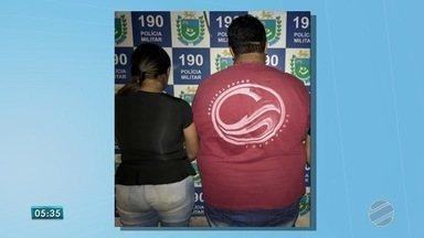 Casal é preso por tráfico de drogas pela PM em Campo Grande - Homem e mulher foram presos no bairro Amambaí. Com eles havia dinheiro, drogas e celulares.