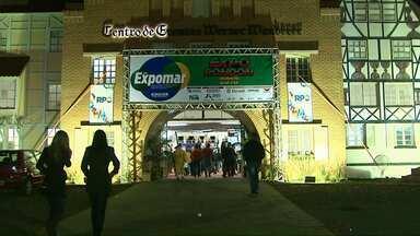 Centenas de pessoas são esperadas até domingo na ExpoRondon - Tem apresentações culturais, café colonial, parque de diversões além de exposição de maquinário agrícola e de animais.