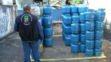 ANP fiscaliza revendas de botijão de gás e postos de combustíveis em Santarém - Fiscais da Agência Nacional do Petróleo realizaram a ação durante esta sexta-feira (27).