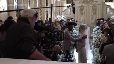 Giovanna Lancellotti comenta atitudes de sua personagem em 'Segundo Sol' - Atriz conversa com as apresentadoras do 'Vídeo show'