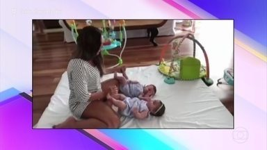 Ivete Sangalo compartilha vídeo fofo com filhas gêmeas - Confira o 'Giro da Ana' pelas redes sociais dos famosos