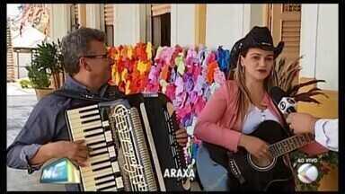 Estrutura está quase pronta para o 'Grande Araiá' em Araxá - Festa que resgata a cultura caipira da região fecha com show e comidas típicas neste sábado (28) e domingo (29) o Circuito Junino da TV Integração.