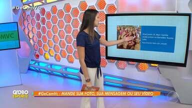 #GeComVc: veja as mensagens enviadas pelos telespectadores para o programa - Confira o quadro interativo do Globo Esporte Bahia.