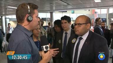 Procon da Paraíba fiscaliza se aeroporto está cumprindo lei da bagagem - A blitz foi realizada no Aeroporto Castro Pinto.