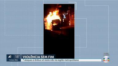 Suspeito de incendiar ônibus em Belo Horizonte é preso - Ataque aconteceu na Região do Barreiro.