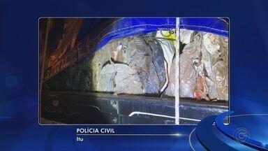 Caminhão carregado com maconha é apreendido na Castello Branco em Itu - undefined