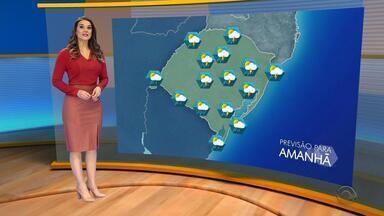Tempo: sábado (28) será marcado com chuva em maior parte do RS - Confira a previsão do tempo.