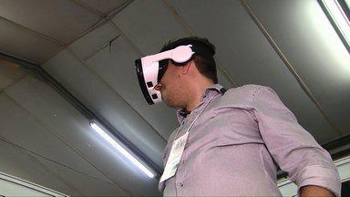 Tecnologia 3D é apresentada em feira de arquitetura e decoração - Diversas novidades do setor estão em exposição na Expoconstruindo, que acontece em Cascavel.