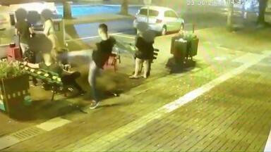 Homem que chutou rosto de rapaz em Medianeira é preso - Prisão foi decretada pela Justiça, após um pedido da Polícia Civil.