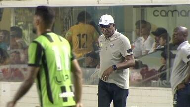Santos perde para o América-MG na Vila Belmiro - Santos perde para o América-MG na Vila Belmiro