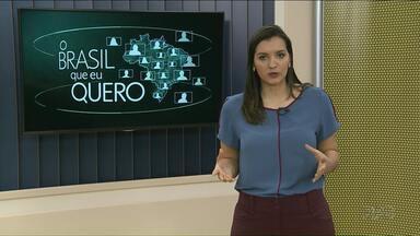 Que Brasil você quer para o futuro? - Grave um vídeo respondendo a essa pergunta e envie para o g1.com.br/brasilqueeuquero