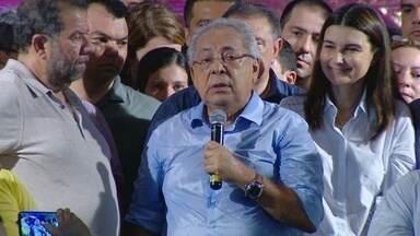 PDT confirma candidatura de Amazonino Mendes ao governo do AM - Atual governador tentará reeleição. Ele terá como vice Rebecca Garcia (PP).