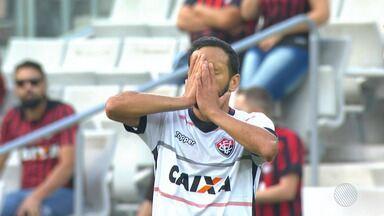 Vitória perde para o Atlético-PR e técnico Mancini é demitido logo após a partida - Time baiano tem a pior defesa do Campeonato Brasileiro e sofreu a segunda goleada em uma semana.
