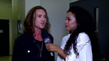 Vitor Kley fala sobre a sua participação no Ding Dong - O cantor falou sobre a emoção de participar pela primeira vez do programa