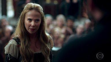 Diana reafirma sua versão no julgamento - Catarina tenta a desmentir