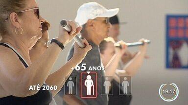 Até 2060 um a cada quatro pessoas deve ser idoso - Em Caraguá tem exemplo de disposição.