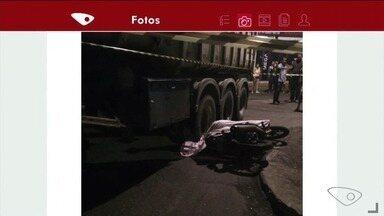 Corpo de jovem de 17 anos que morreu em acidente em Apiacá, ES, é enterrado - Ele estava em uma motocicleta.