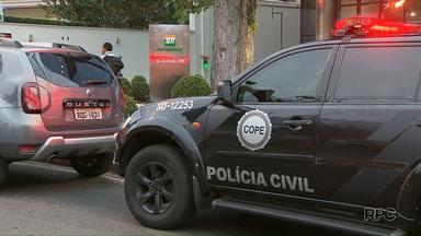 Operação da polícia investiga possível fraude em distribuidoras de combustíveis no Paraná - A suspeita é que as distribuidoras estivessem fraudando o valor repassado às bombas.