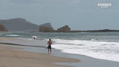 Free Surf Na Nicarágua
