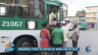 'Minha Vida no Buzu' discute as condições do transporte público no bairro de Narandiba - Confira o quadro desta terça-feira (7).