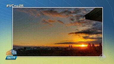 Confira a previsão do tempo desta terça-feira (7); veja também as fotos do amanhecer - Saiba como fica o tempo no estado.