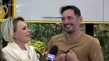 Fernando começou a vender batatas fritas inspirado por matéria do 'Mais Você' - Empreendedor se emociona ao conhecer Ana Maria Braga