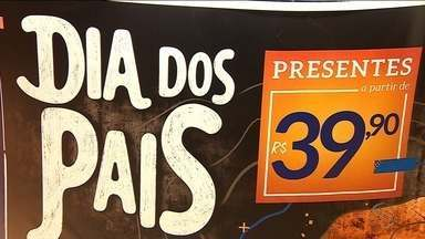 Comerciantes sergipanos estão otimistas para as vendas do 'dia dos pais' - Faltando poucos dias o comércio está bem otimista com a expectativa de vendas para a data.