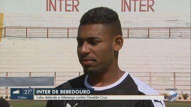 Inter de Bebedouro treina para pegar o Osvaldo Cruz e garantir vaga na próxima fase - Partida acontece no sábado.
