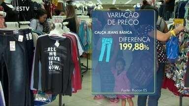 Procon alerta consumidores para presente do dia dos pais com preço abusivo, no ES - De acordo com o órgão, o preço pode variar até 200% de uma loja para a outra.