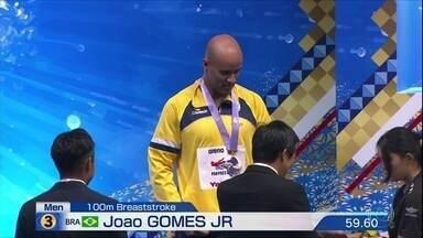 João Gomes Jr conquista medalha na natação do Pan-Pacífico - João Gomes Jr conquista medalha na natação do Pan-Pacífico