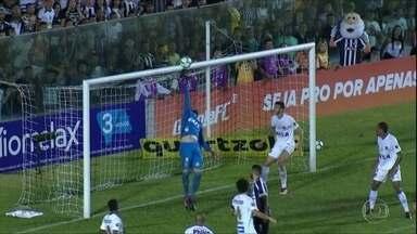 Santos empata com Ceará e deixa a zona do rebaixamento - Peixe sai atrás no placar, mas consegue o empate com Jean Mota.