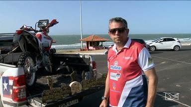 Fábio Cadasso se prepara para disputa nas motos no Rally dos Sertões - Piloto maranhense disputará o rally em uma categoria diferente em 2018