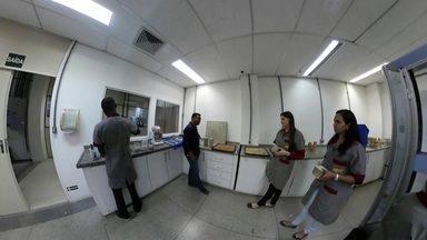 Um olhar em volta de uma inovação científica - Reportagem gravada em 360° em um dos laboratórios da Universidade Federal do Rio de Janeiro mostra desenvolvimento de concreto ecológico.