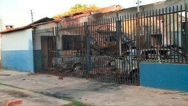 Incêndio destrói oficina na Zona Sul de Teresina - Incêndio destrói oficina na Zona Sul de Teresina