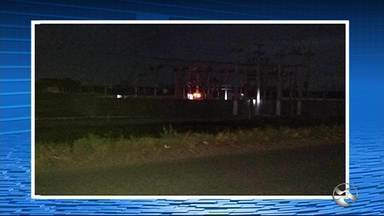 Falha em estação interrompe fornecimento de energia em três cidades do Agreste - Vertentes, Taquaritinga do Norte e Frei Miguelinho ficaram sem energia.