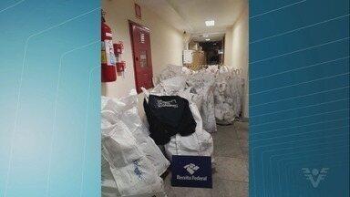 Traficantes embarcam mais de 1 tonelada de cocaína em navio no Porto de Santos - Câmeras do Porto de Santos flagraram a ação.