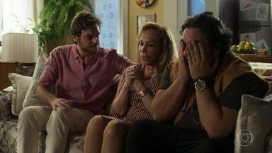 Naná anuncia que viajará com Nestor - Clóvis avisa Dodô sobre a decisão da mãe. Beto e Ionan trocam confissões sobre Luzia e Maura