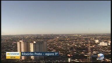 Veja a previsão do tempo neste final de semana para a região de Ribeirão Preto - Temperatura máxima chega a 24°C.