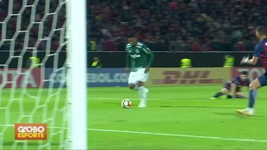 Veja os gols de quinta-feira pela Libertadores e Sul-americana - Palmeiras vence o Cerro Porteño, no Paraguai. Vasco é eliminado da Sul-americana. Confira os jogos da 18ª rodada do Brasileirão.