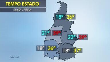 Confira a previsão do tempo em todo o Tocantins nesta sexta-feira (10) - Confira a previsão do tempo em todo o Tocantins nesta sexta-feira (10)
