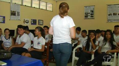 MP-PA promove em Santarém semana com ações alusivas ao Dia do Estudante - As ações estão ocorrendo em várias escolas da rede municipal de ensino do município.