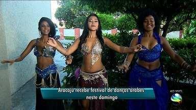 Aracaju recebe festival de danças árabes - Evento ocorre no Teatro Tobias Barreto (TTB).